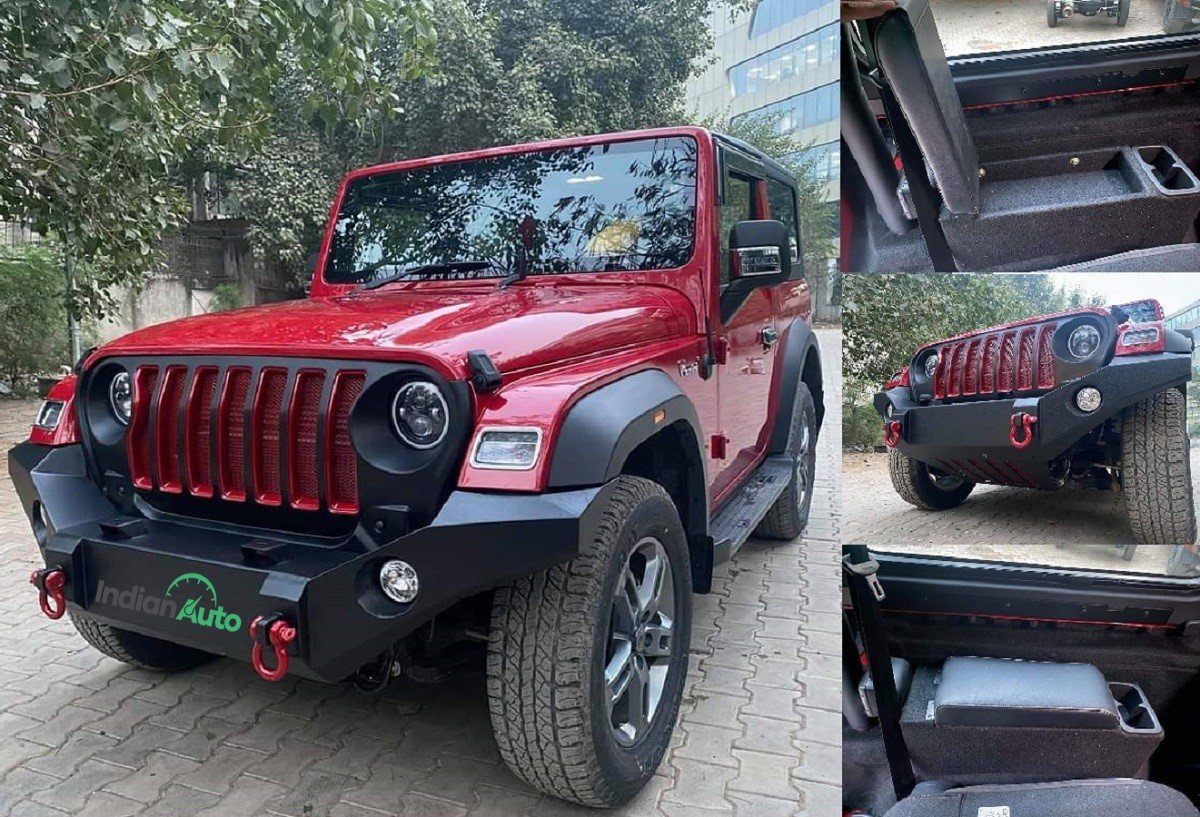 New Mahindra Thar Gets First Batch of Accessories From Bimbra