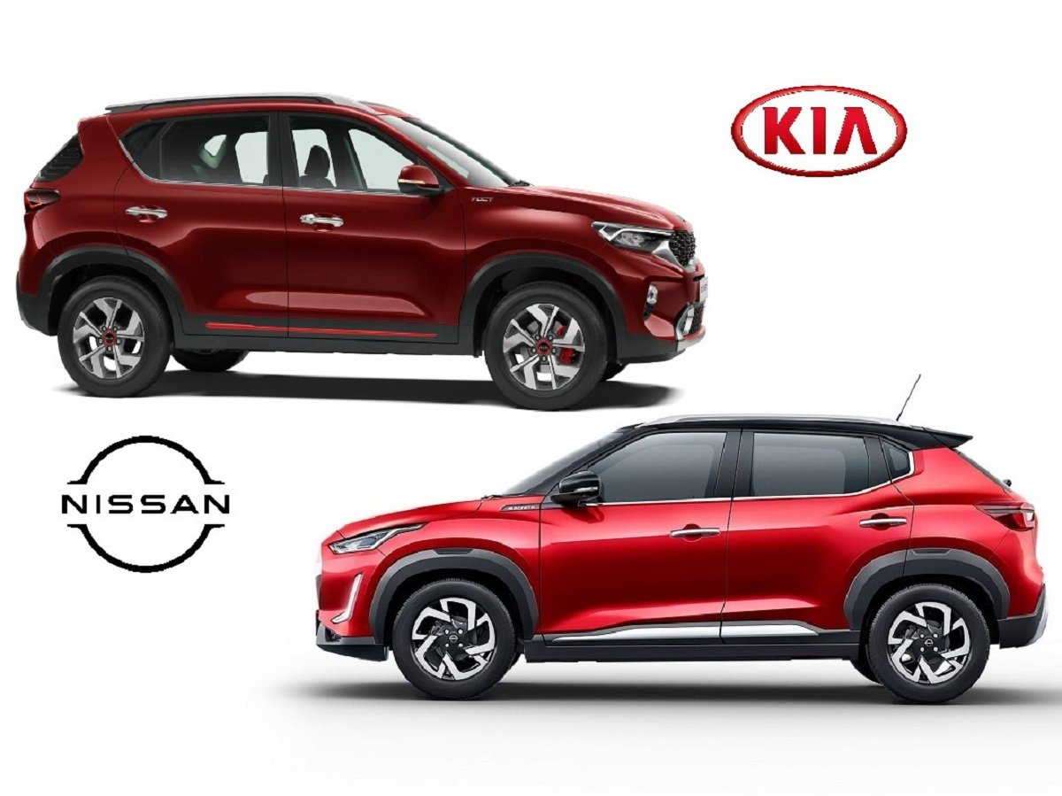 Kia Sonet vs Nissan Magnite Comparison
