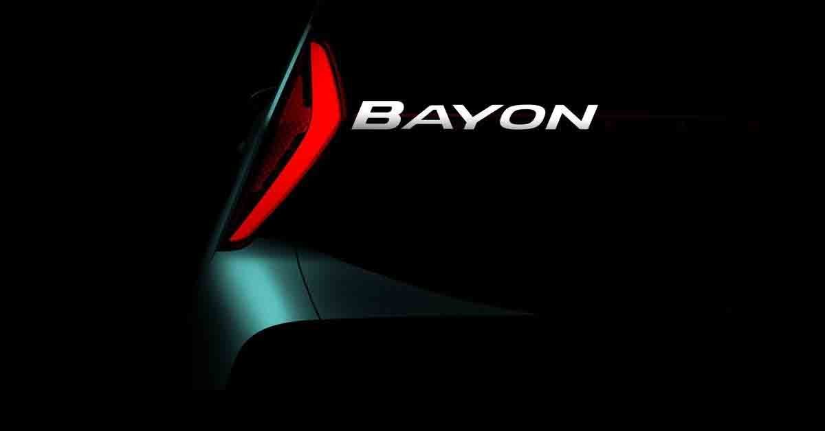 Hyundai Bayon (i20-based Crossover) Teased - Here's Why We Ain't Excited