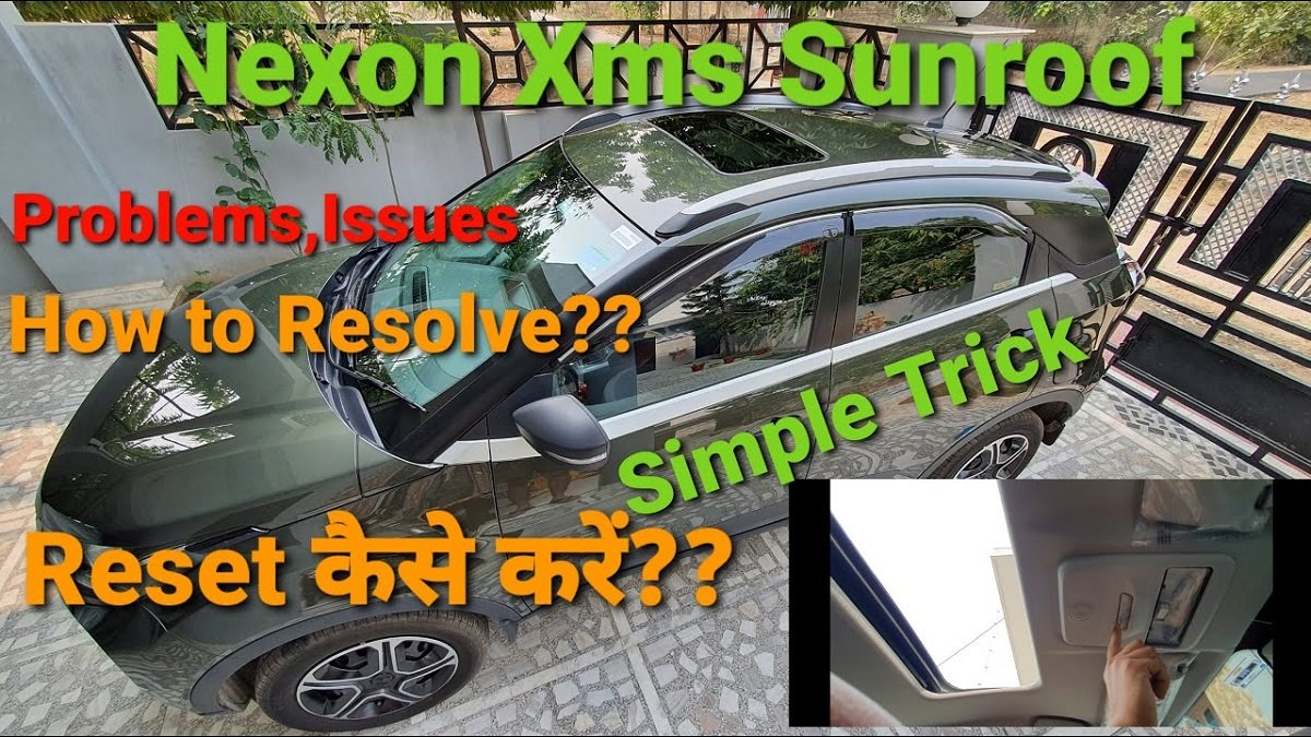 Here's an Easy Fix for Tata Nexon's Sunroof's Tilt Function Annoyance