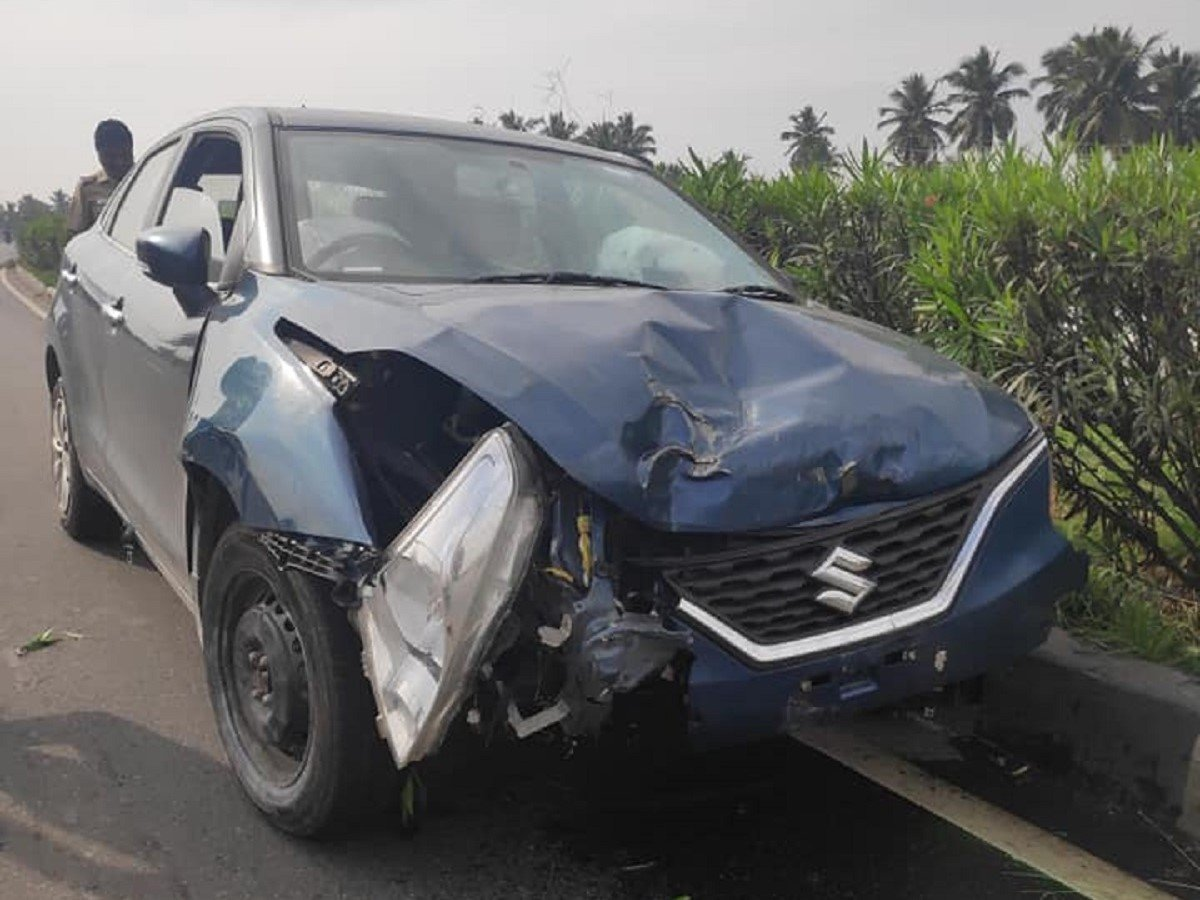 Maruti Baleno (3-star NCAP) Saves Occupants in Crash, Owner Shares on Social Media