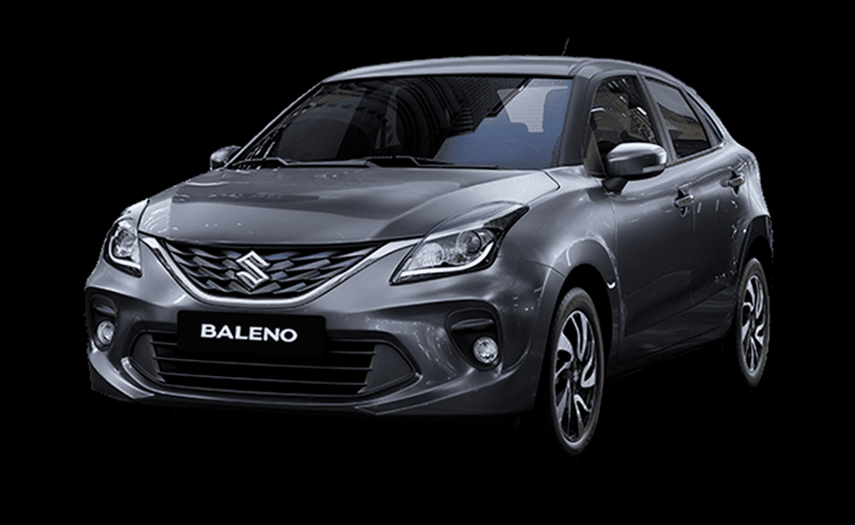 Front-side-look-of-Maruti-Baleno