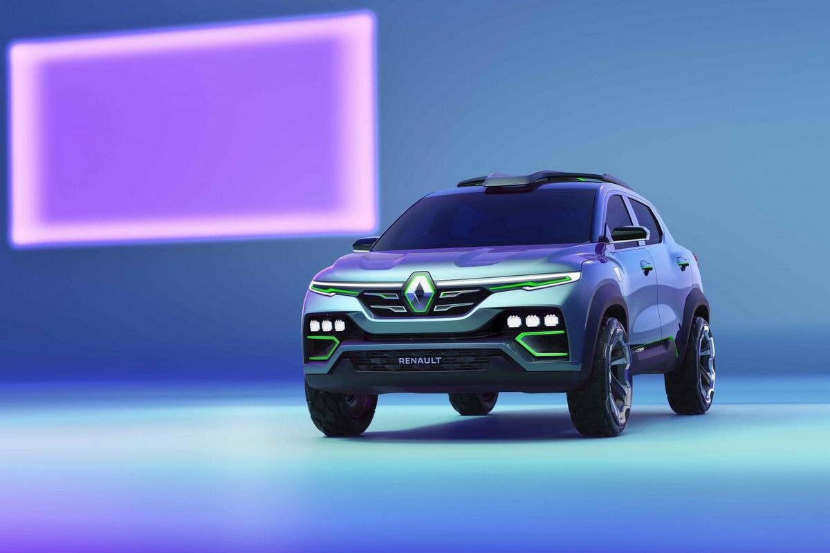 upcoming suvs in india 2021 renault kiger concept car front angle