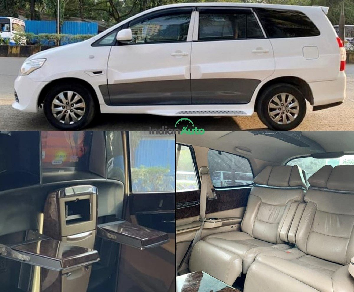 Will You Buy This DC-Modified Toyota Innova For Rs 8.5 Lakh