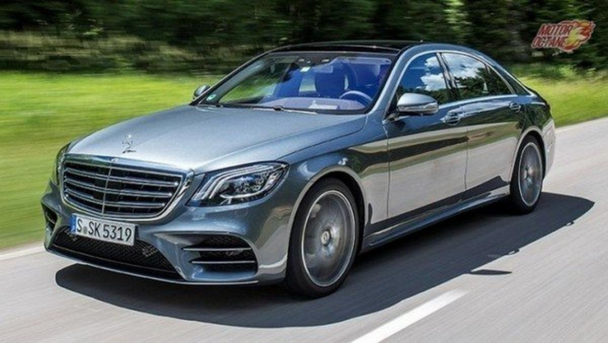 2018 mercedes-benz s-class grey front angle