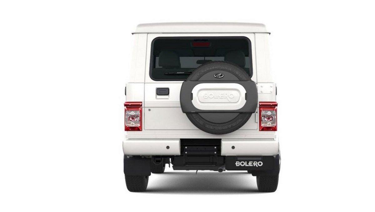 Rear-look-of-2020-Mahindra-Bolero best-selling SUV
