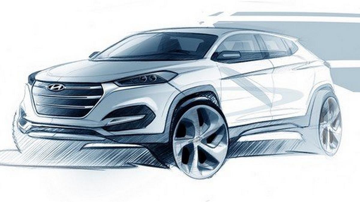 Hyundai  Fluidic Sculpture 2.0 design sketch