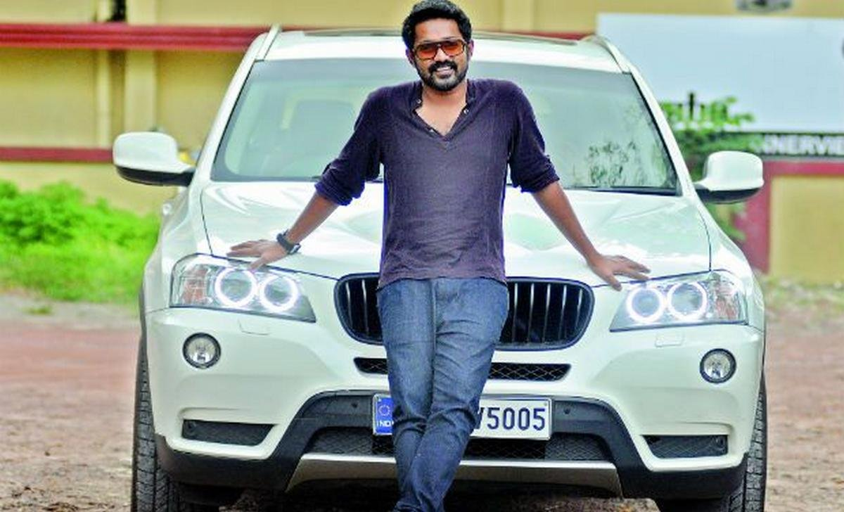 asif ali car collection - bmw x3 front angle