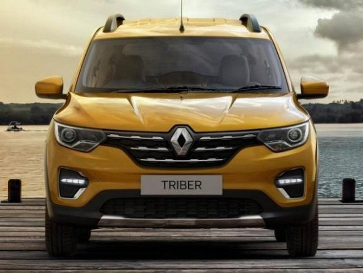 renault triber india front angle