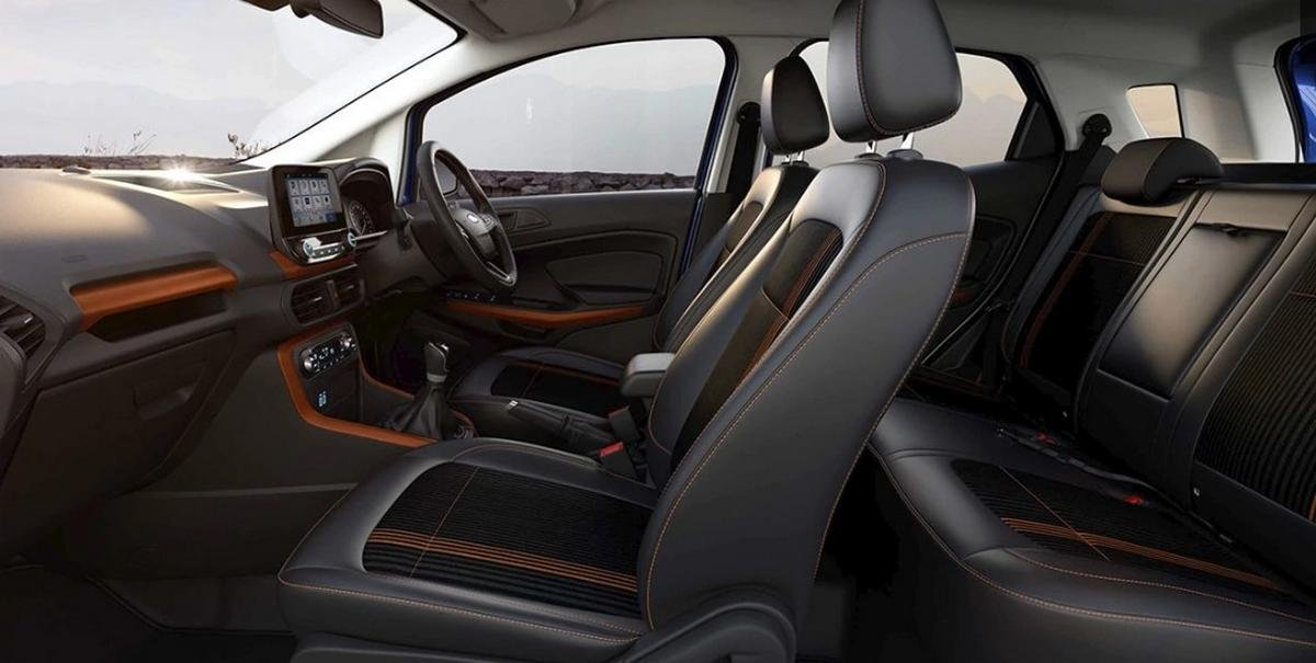 ford ecosport cabin layout