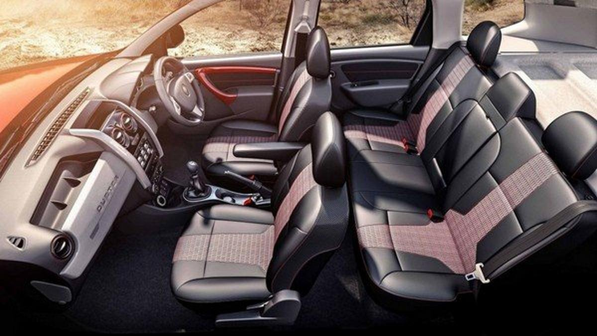 Renault Duster interior layout