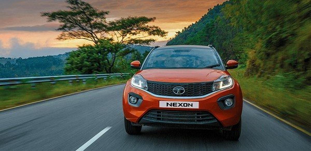 best mileage SUV cars in India - new tata nexon front angle