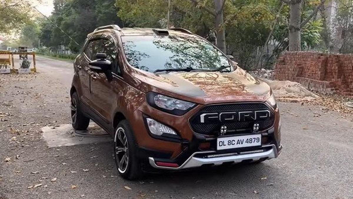 modified ford ecosport front