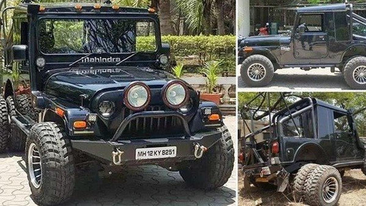 Mahindra Thar modification by Grizzly Customs front, side and reae