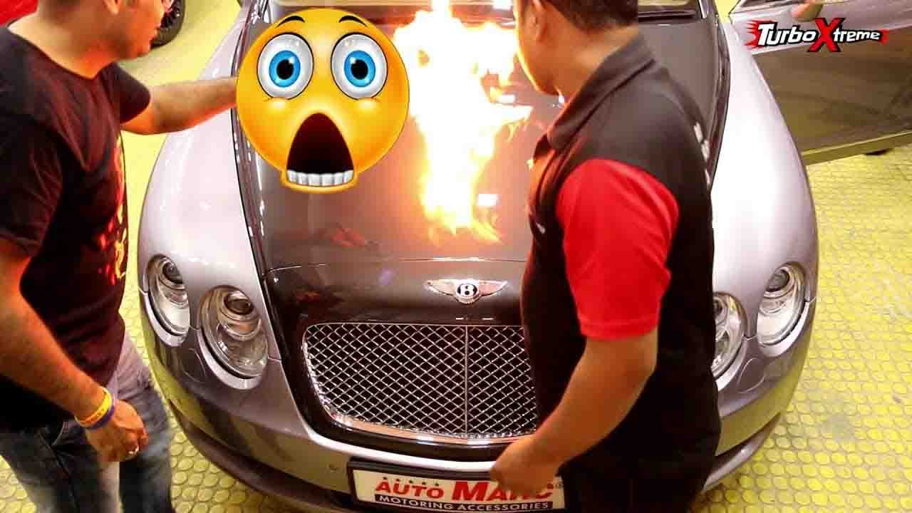 4 Crore Bentley Set On Fire - Here's Why