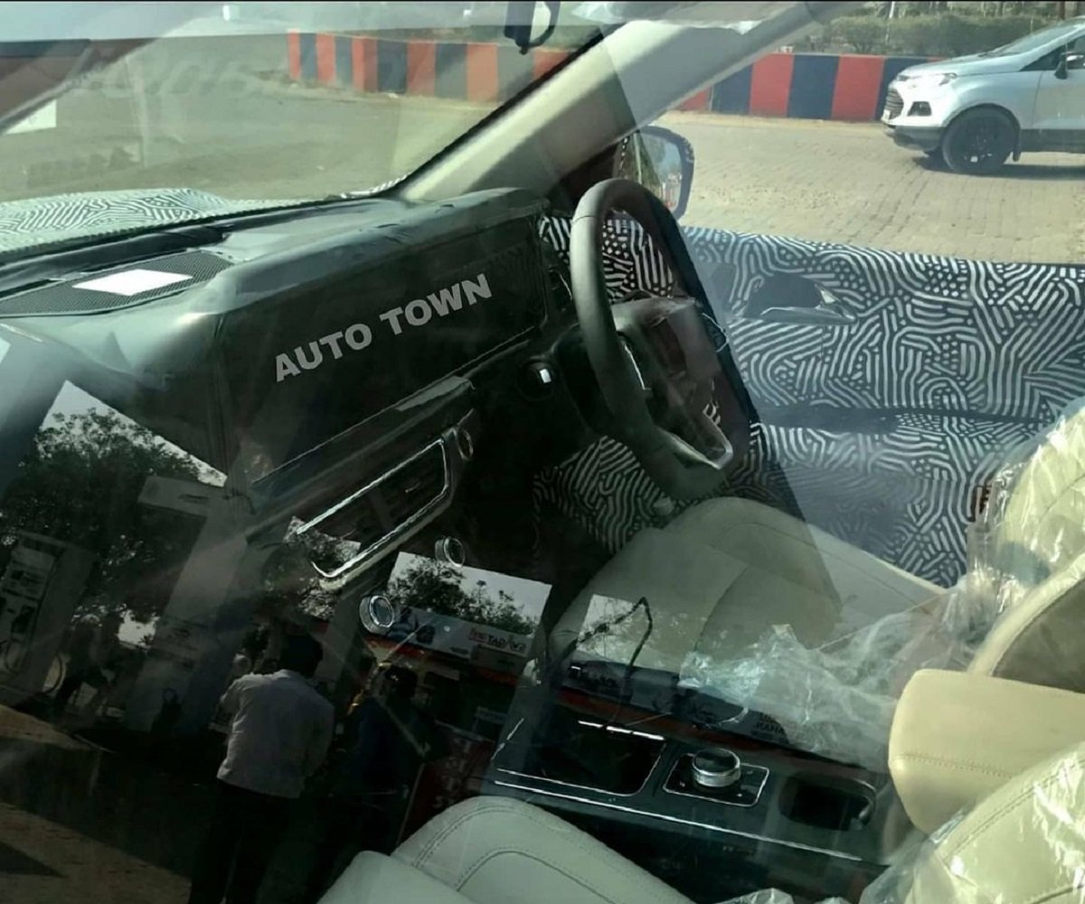 2021 Mahindra XUV500's Interior Snapped, Posher than Outgoing Model