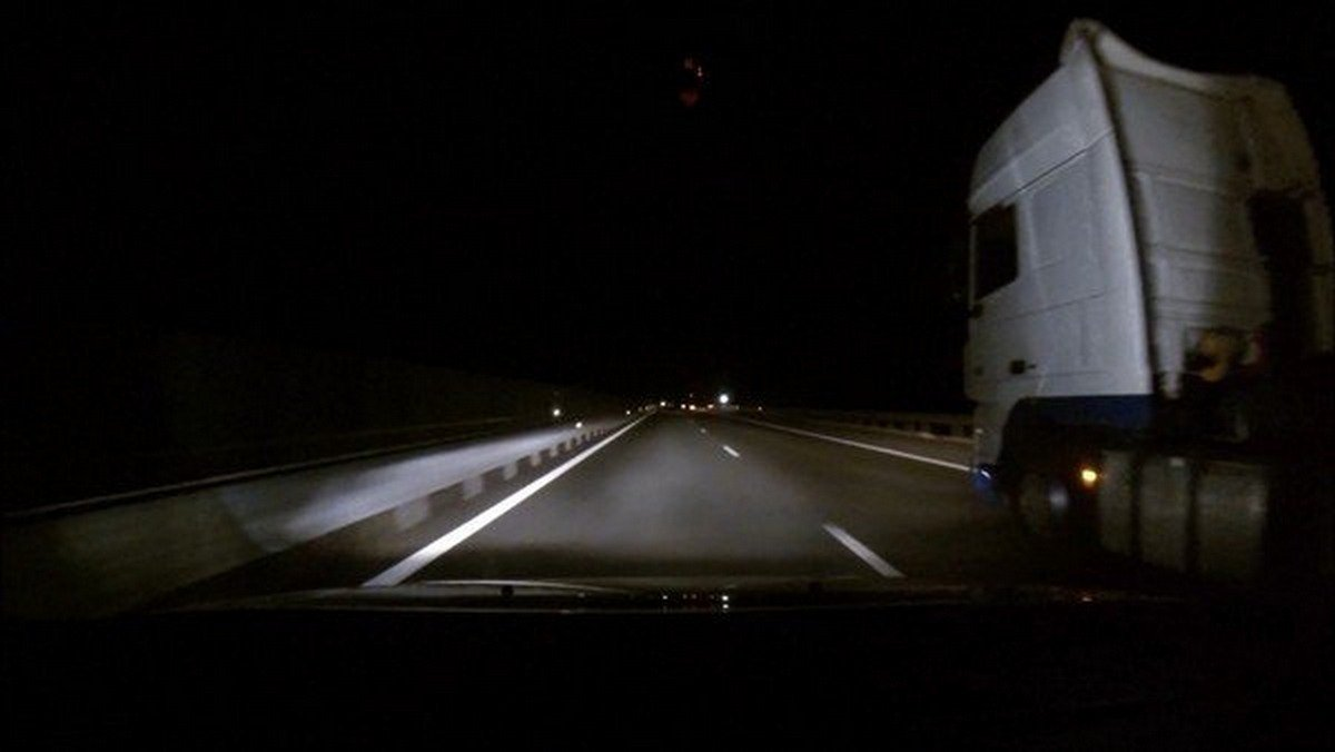 driving on high way