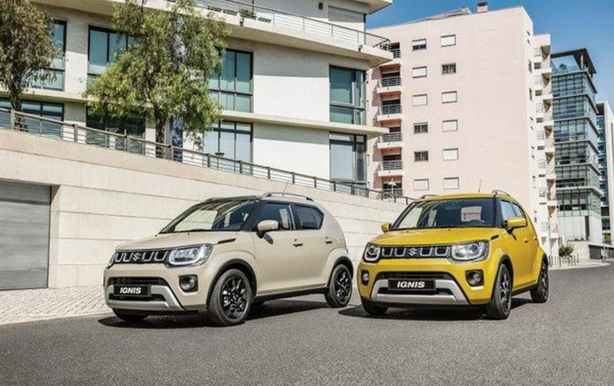 2020 suzuki ignis facelift front angle