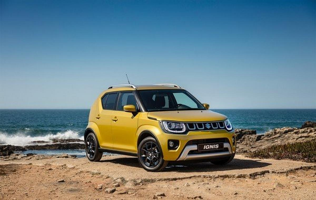 2020 suzuki ignis facelift front three quarters