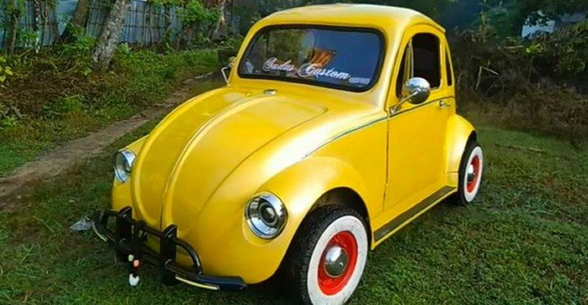 modifief volkswagen beetle front angle