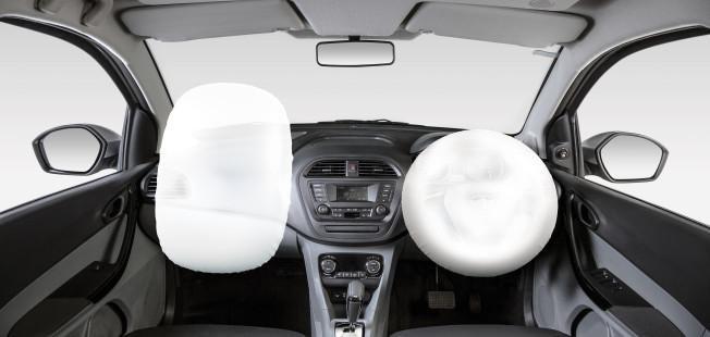2021 Tata Tigor EV dual airbags