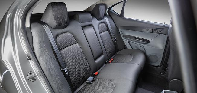 2021 Tata Tigor EV interior rear seats