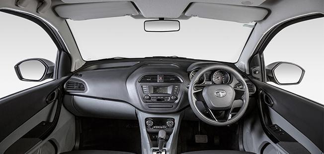 2021 Tata Tigor EV interior dashboard