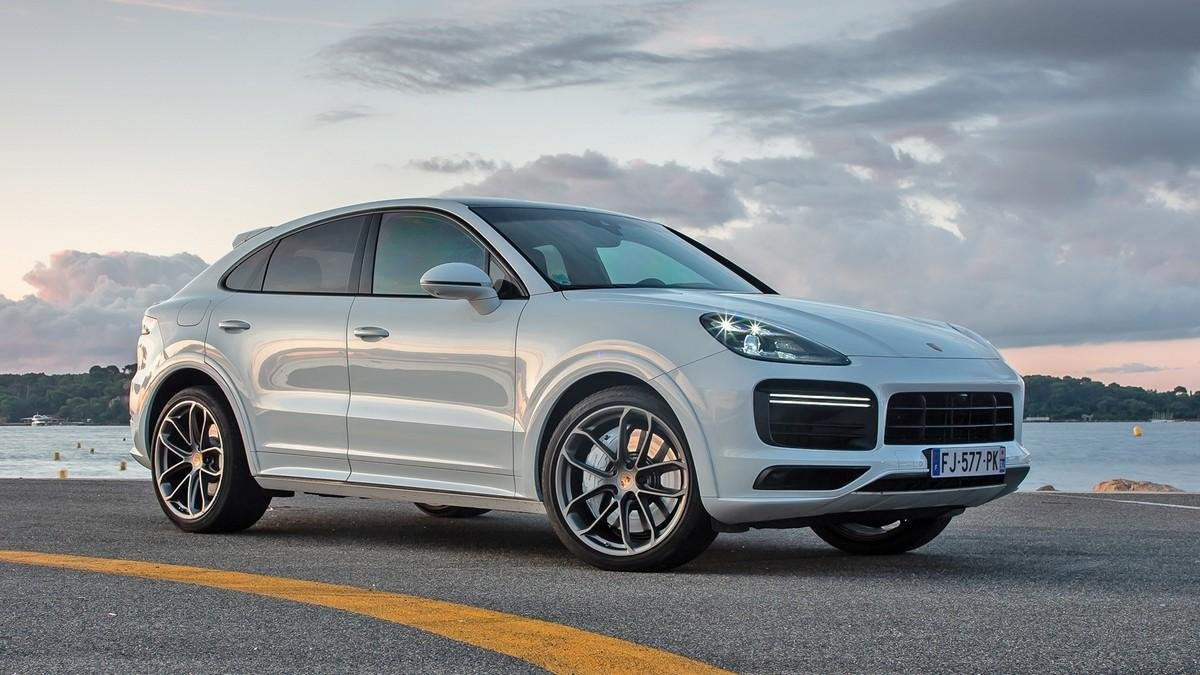 Porsche Cayenne Coupe three-quarter