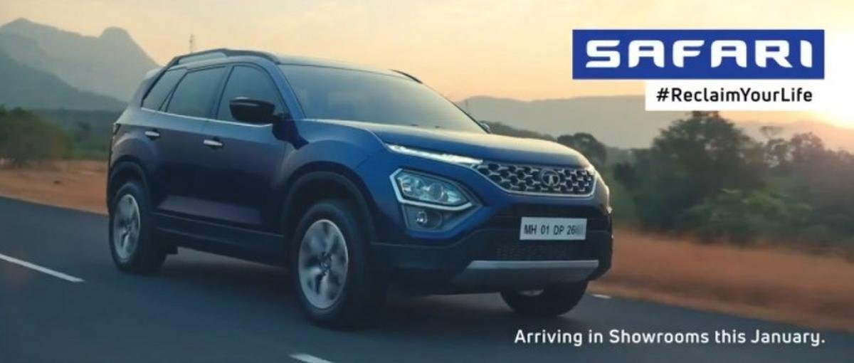 new tata safari commercial video image