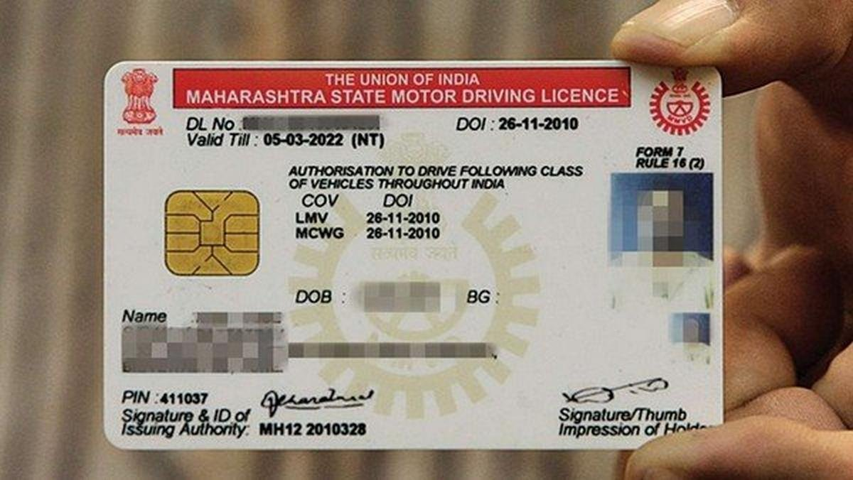 driving license in India