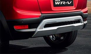 honda wrv rear bumper