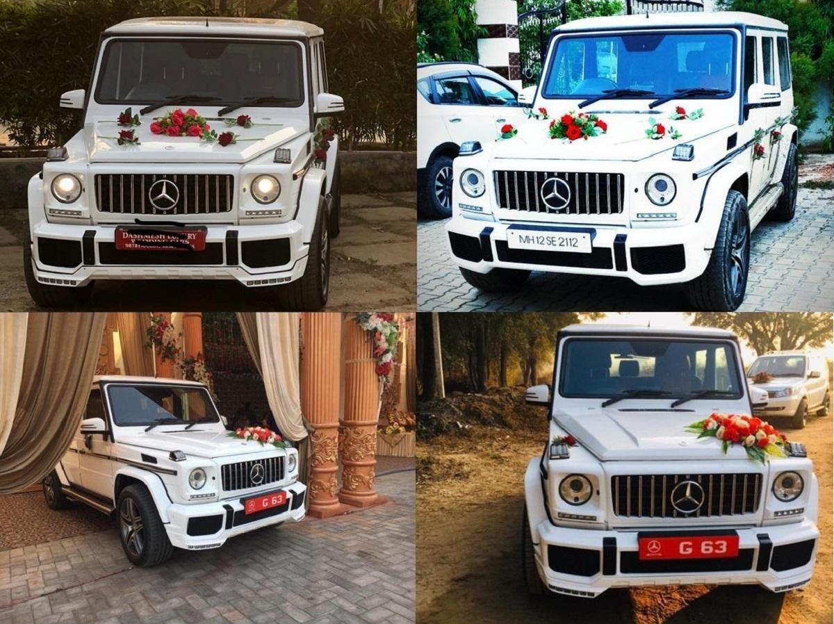 Mercedes G-Wagen NOW AVAILABLE For Wedding Rentals