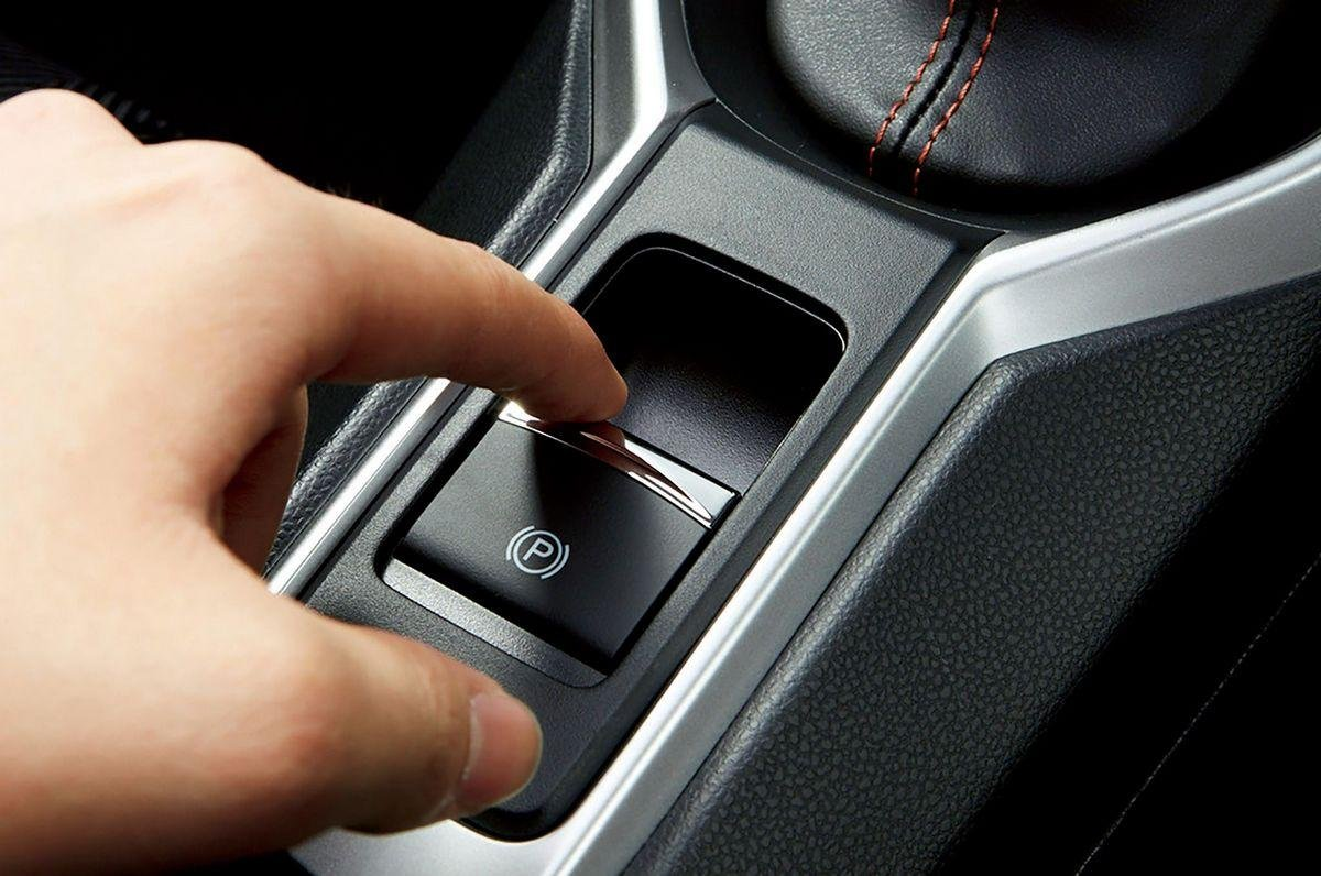 Electronic-hand-brake-front-look