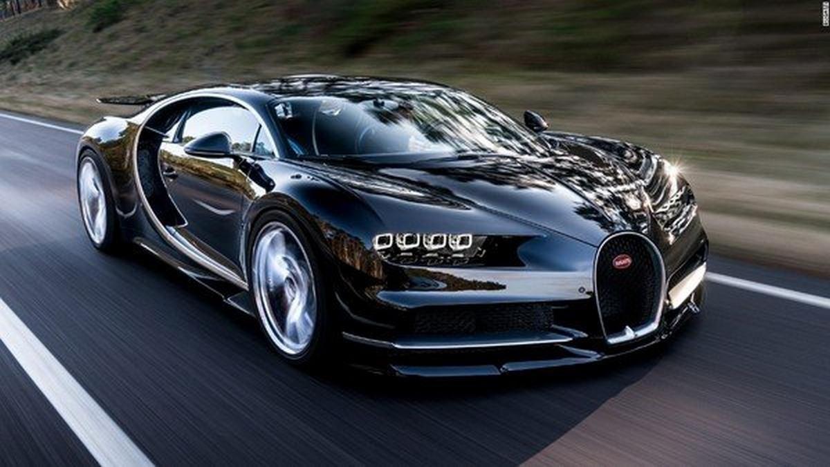 Fastest Car- Bugatti Chiron - 1.479 horsepower