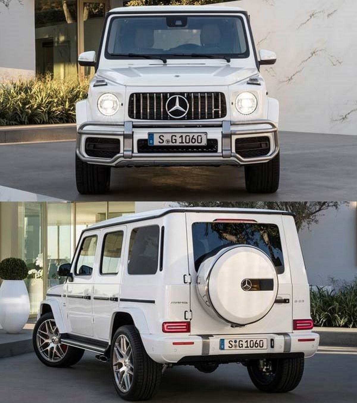 2018 Mercedes G63 AMG front and angular look