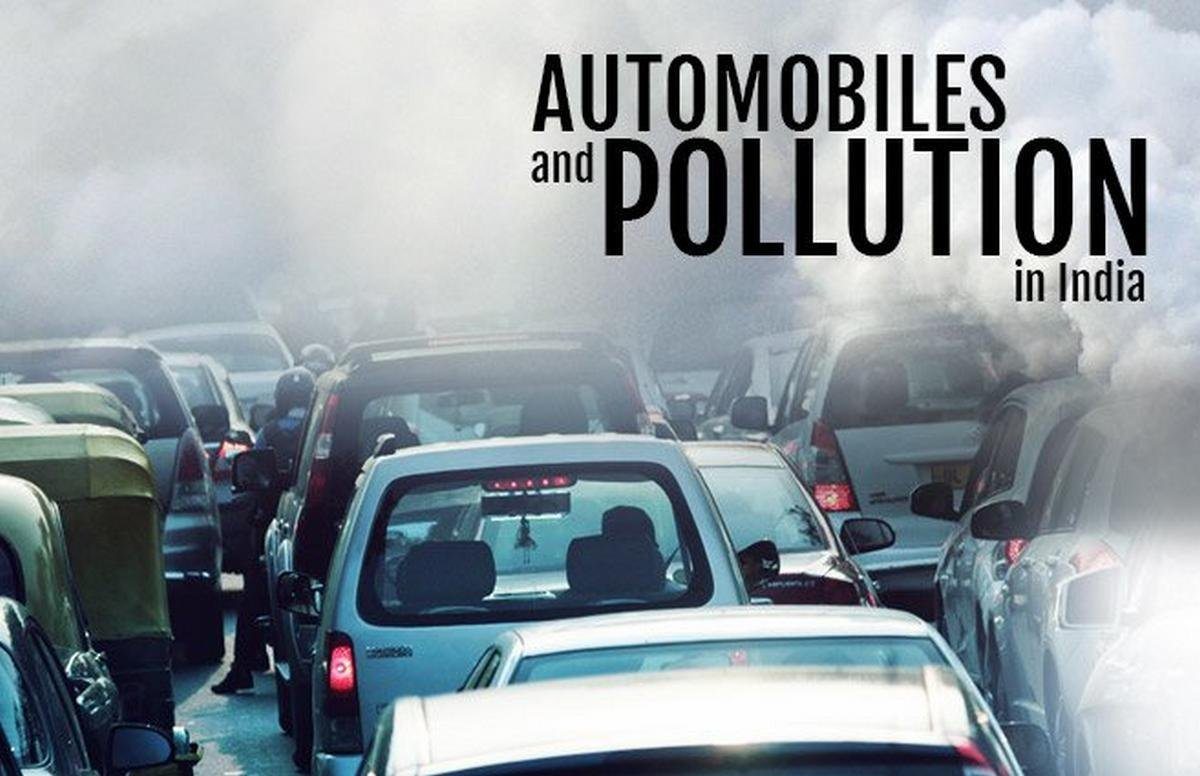air pollution from automobiles in India