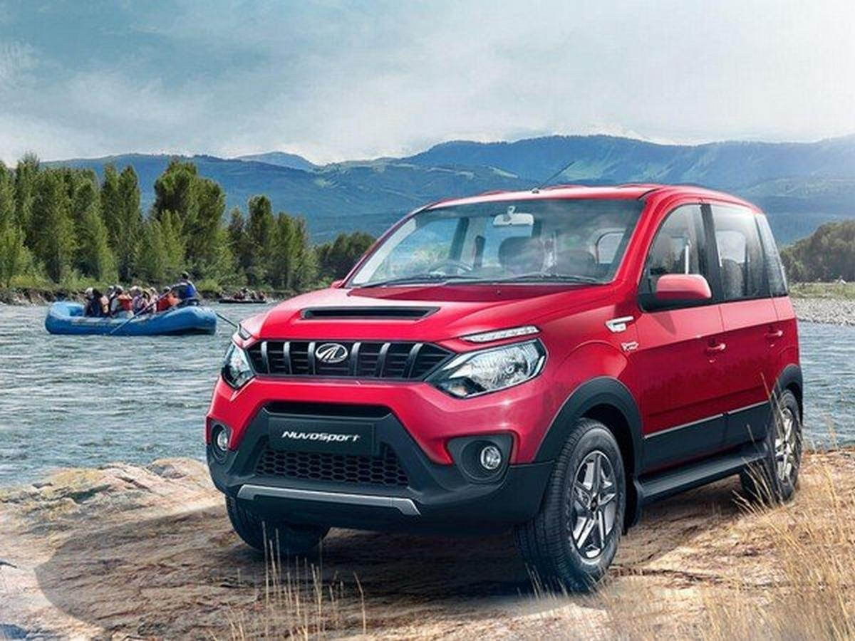 mahindra nuvo sport front grille