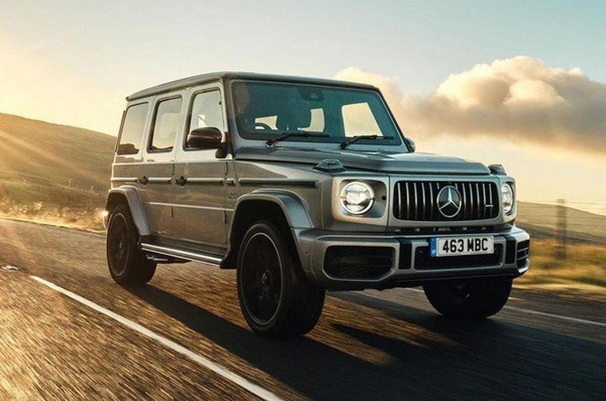 mer amg g63, front look