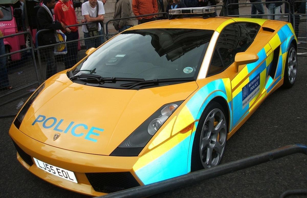 south africa Lamborghini Gallardo police car
