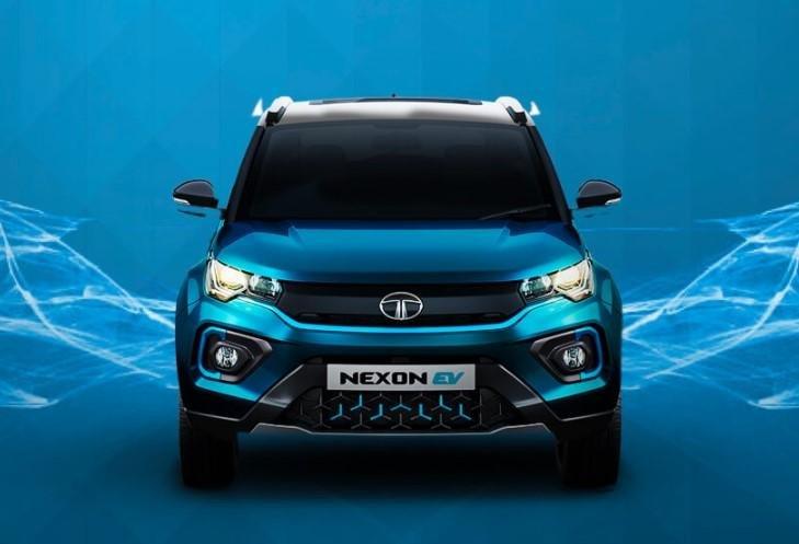 2021 Tata Nexon EV front view