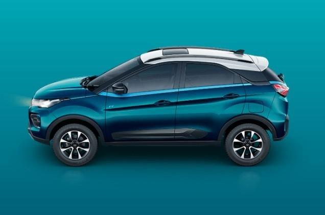 2021 Tata Nexon EV side profile