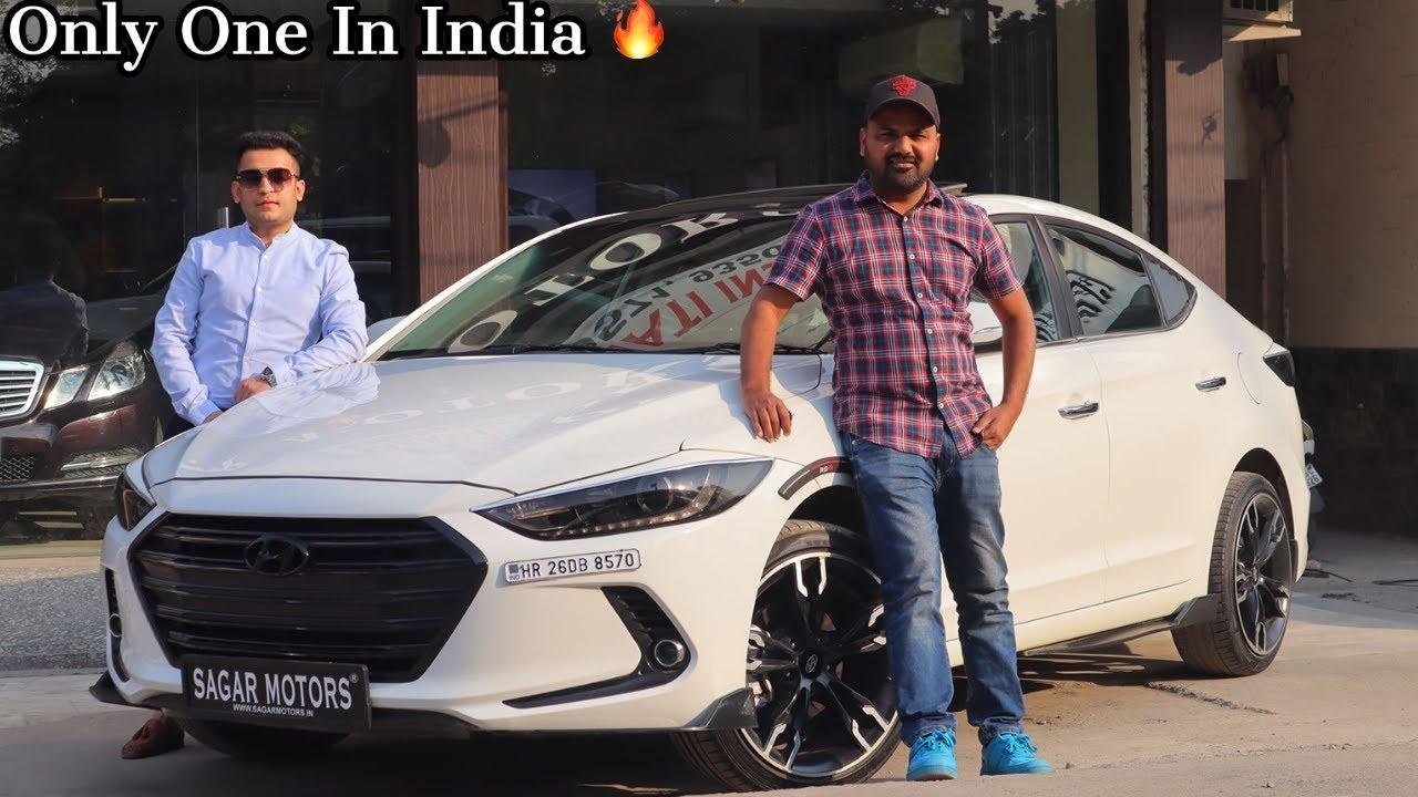 This Hyundai Elantra Has Over Rs 7 Lakh Worth Of Modifications