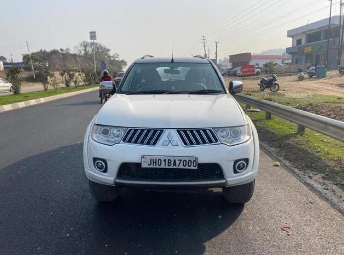 You Can Buy This Mitsubishi Pajero Sport That Was Owned By MS Dhoni