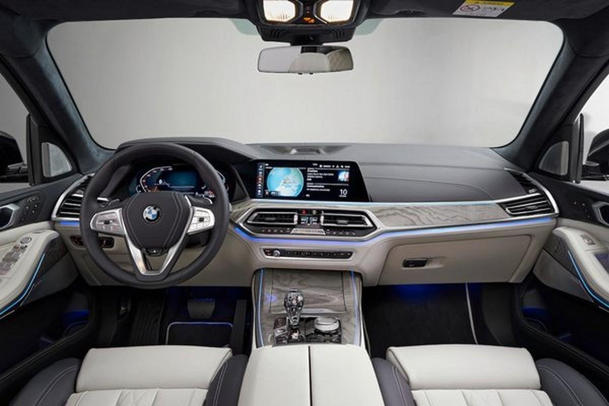 Inside view of the car