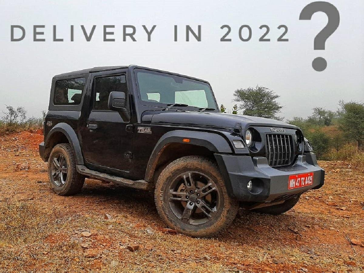 Book New Mahindra Thar Now, Get Delivery In 2022!