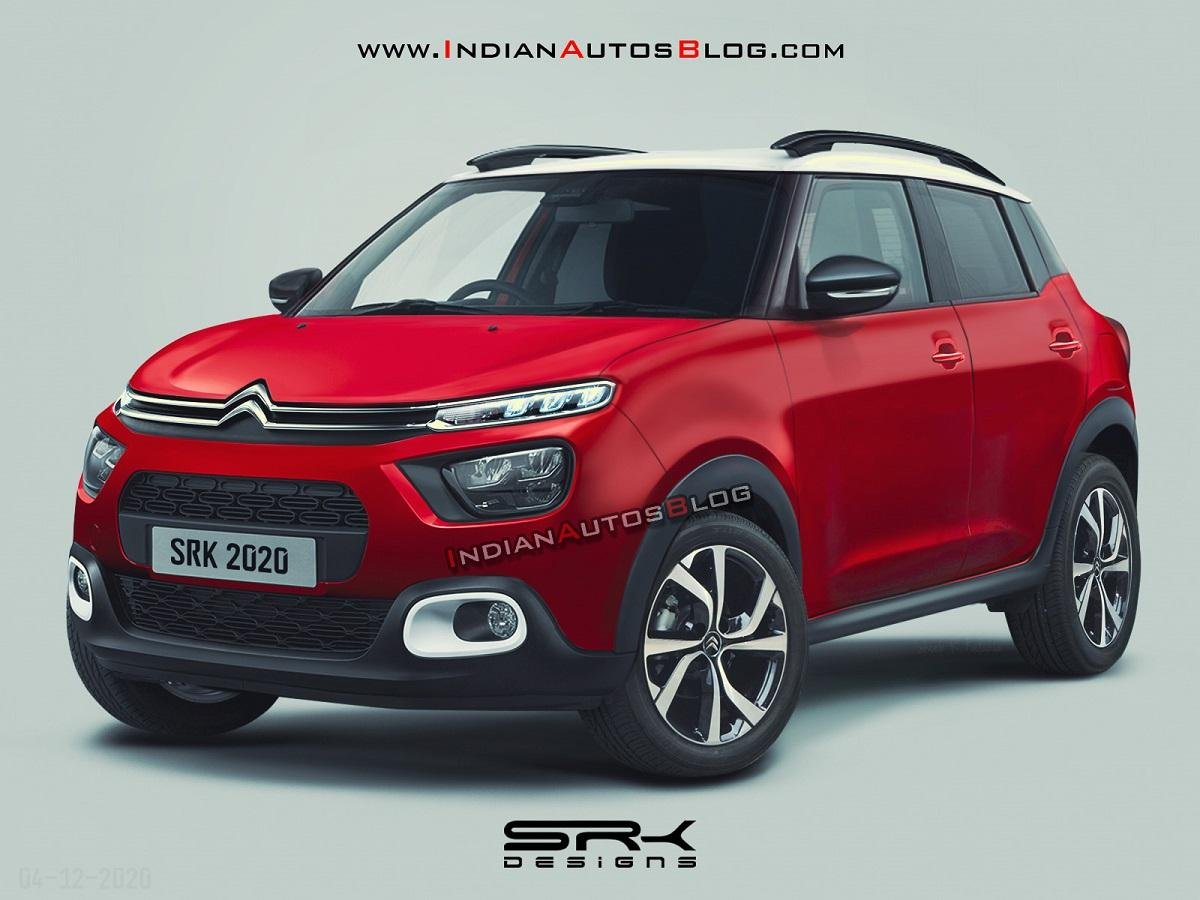 Citroen CC21 Sub-4m Compact-SUV Rendered, Launch in Early 2022