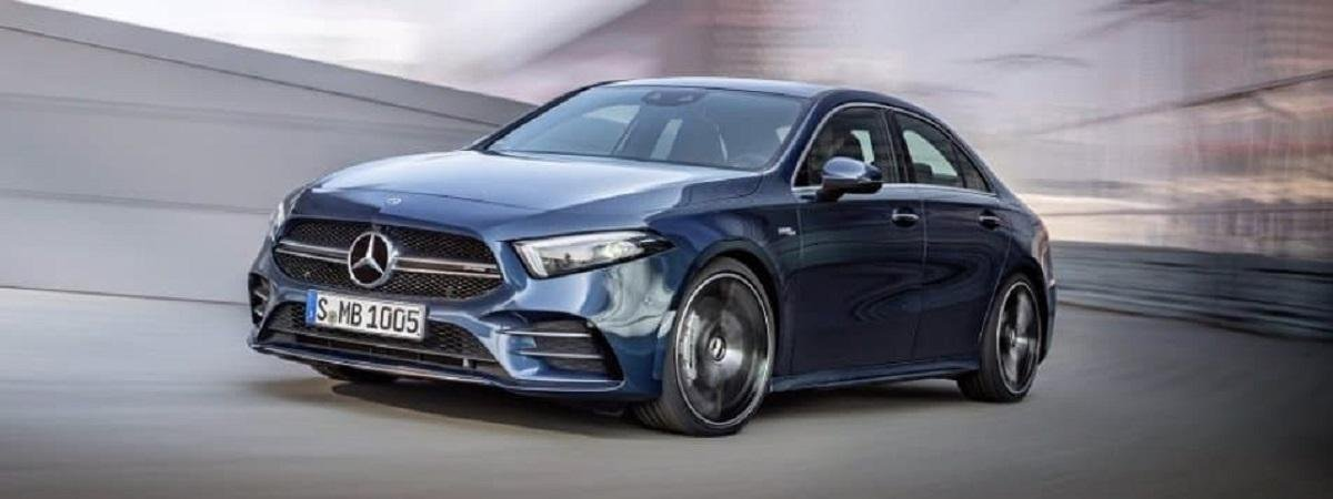 Mercedes-Benz Announces March 25 To Be Launch Date For Its A-Class Limousine
