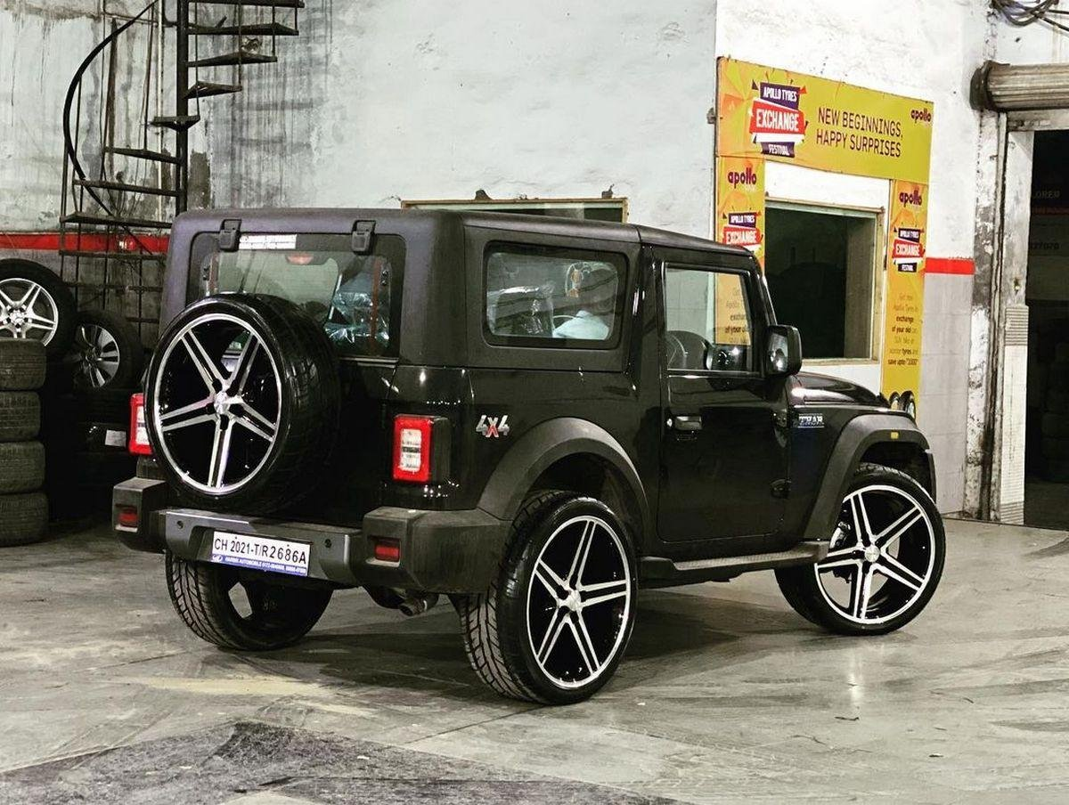 Rear-side-view-of-new-gen-Mahindra-Thar