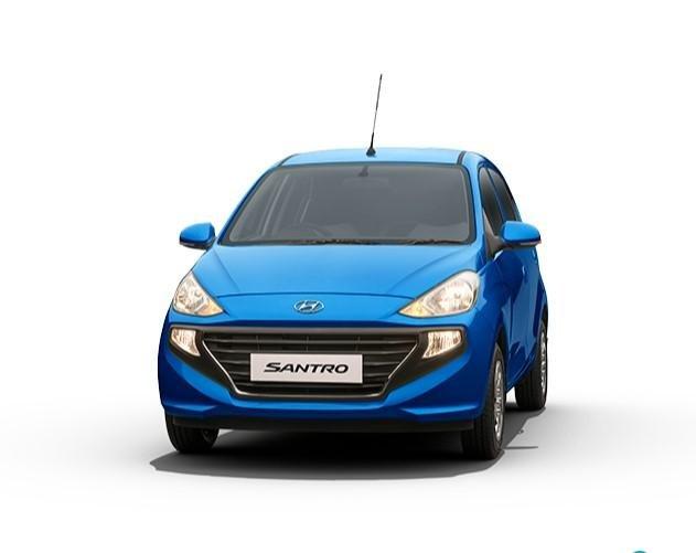 2021 Hyundai Santro alpha blue