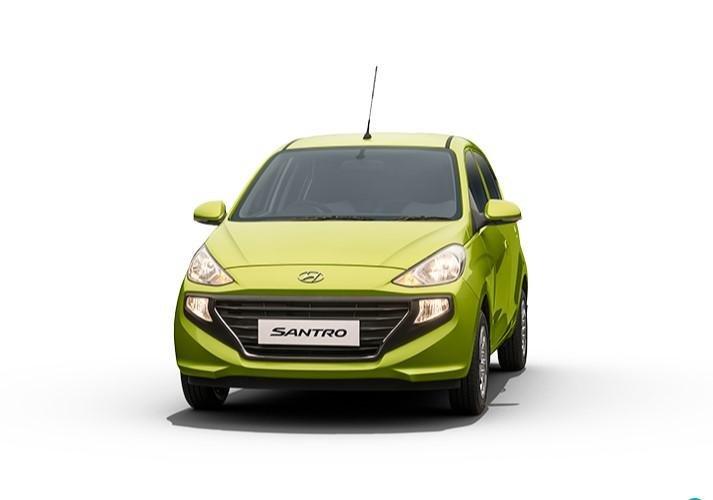 2021 Hyundai Santro Diana Green